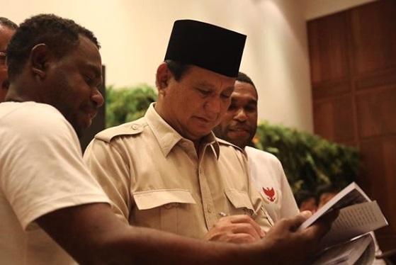 Menhan Prabowo Subianto. (Foto: Instagram/prabowo)