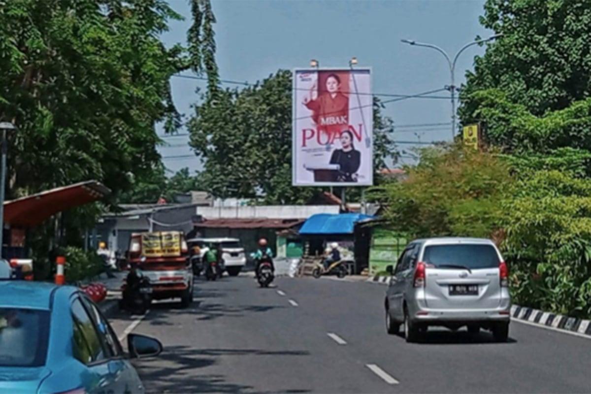 Baliho Puan Bertebaran di Surabaya, PDIP Jatim Buka Suara