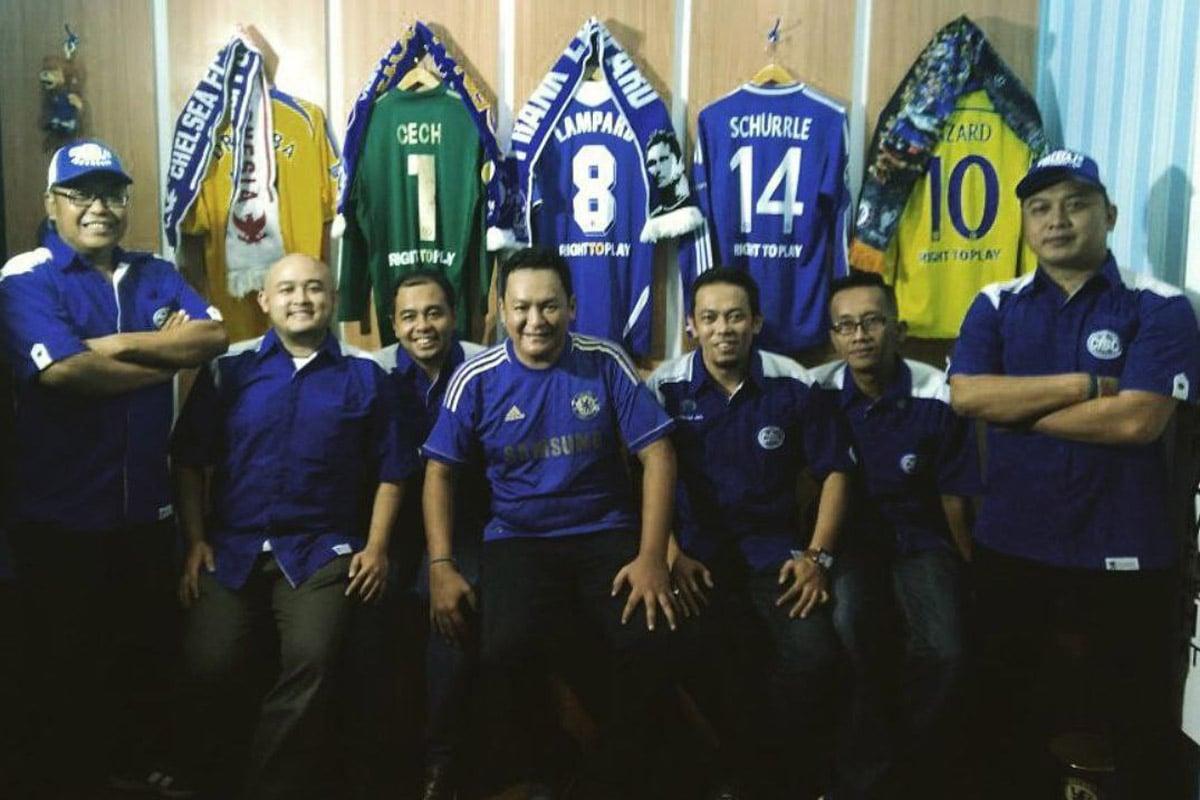 Chelsea Indonesia Supporters Club (CISC). Foto: Instagram/chelseaindo