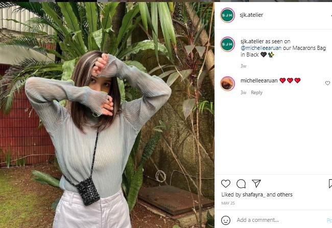 Michelle Cantik dan Stylish, Makin Pepet Pesona Marsha Aruan