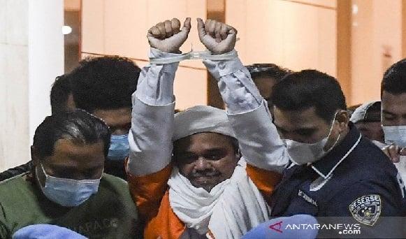 Suara Lantang Habib Rizieq Mengejutkan: Tragedi Paling Sadis...(Foto: Antara)
