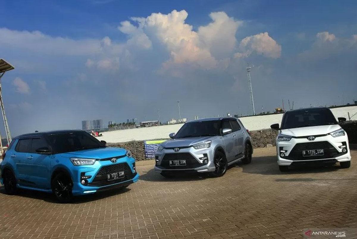 Toyota Raize (ANTARA/HO) (ANTARA/HO)