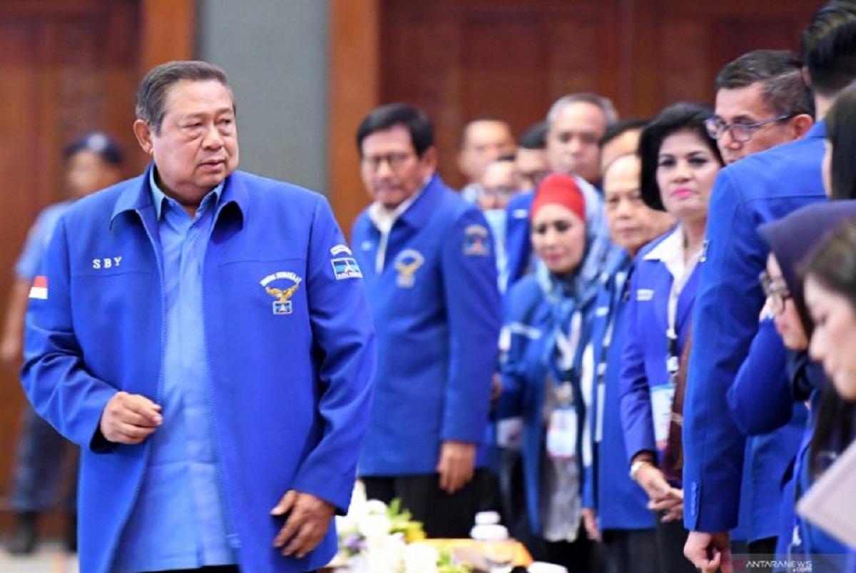 Analisis pakar bocorkan wacana poros yang akan dibangun SBY bersama Demokrat di Pilpres 2024: (Foto: Antara)