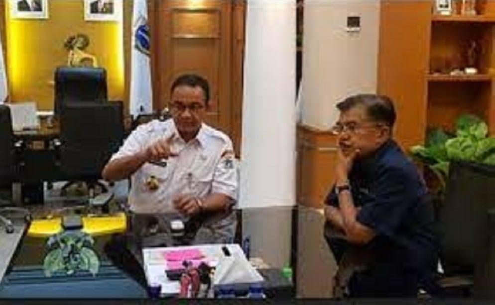 Eks Politikus Demokrat Bongkar Siasat JK Untuk Anies Baswedan (Foto: JPNN.com/GenPI.co)