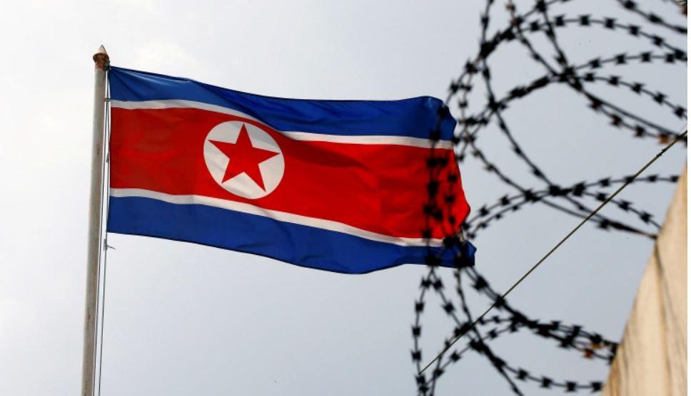 Ilustrasi bendera Korea Utara. (Foto: Edgar Su/Reuters)