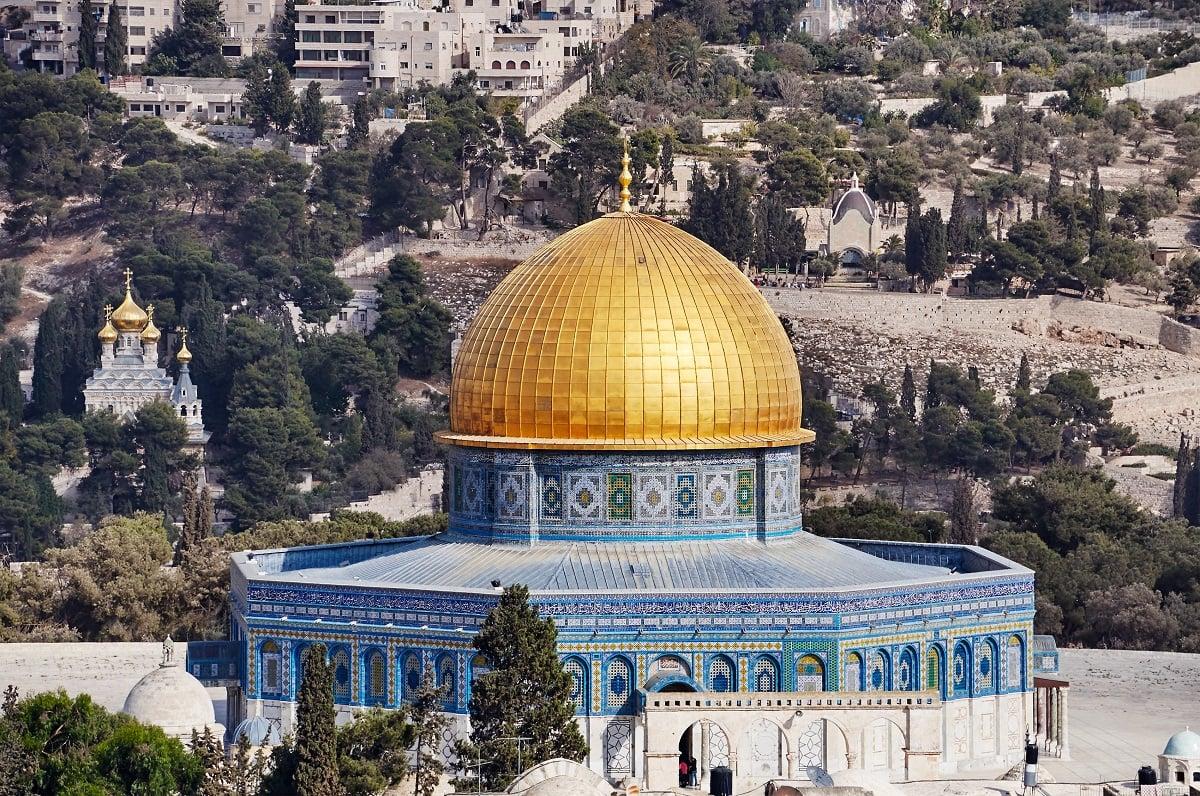 Kompleks Al Aqsa yang oleh masyarakat Yahudi disebut Temple Mount. (Foto: Elements Envato)