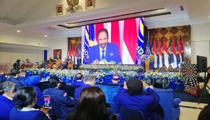 Konvensi calon presiden yang digelar Partai Nasdem. (Foto: Antara)