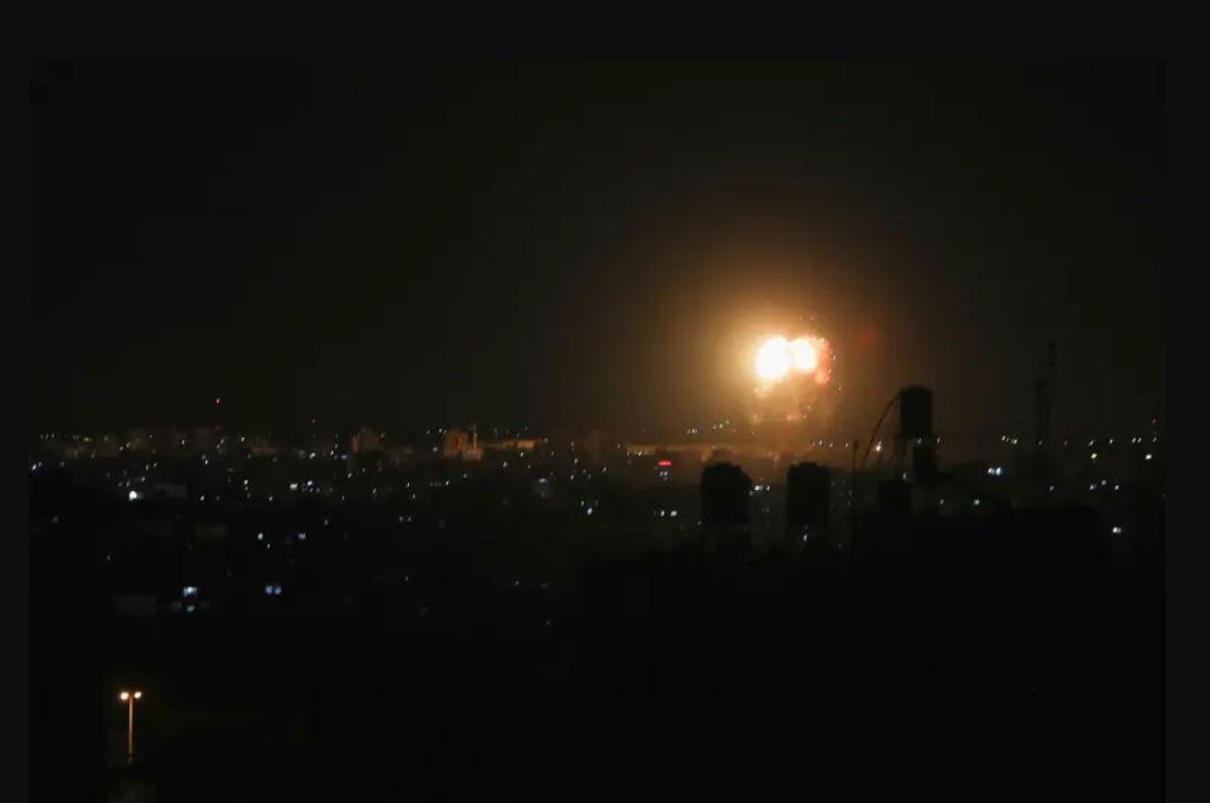Kamis Malam, Israel Kembali Acak-acak Gaza! Ledakan di Mana-mana