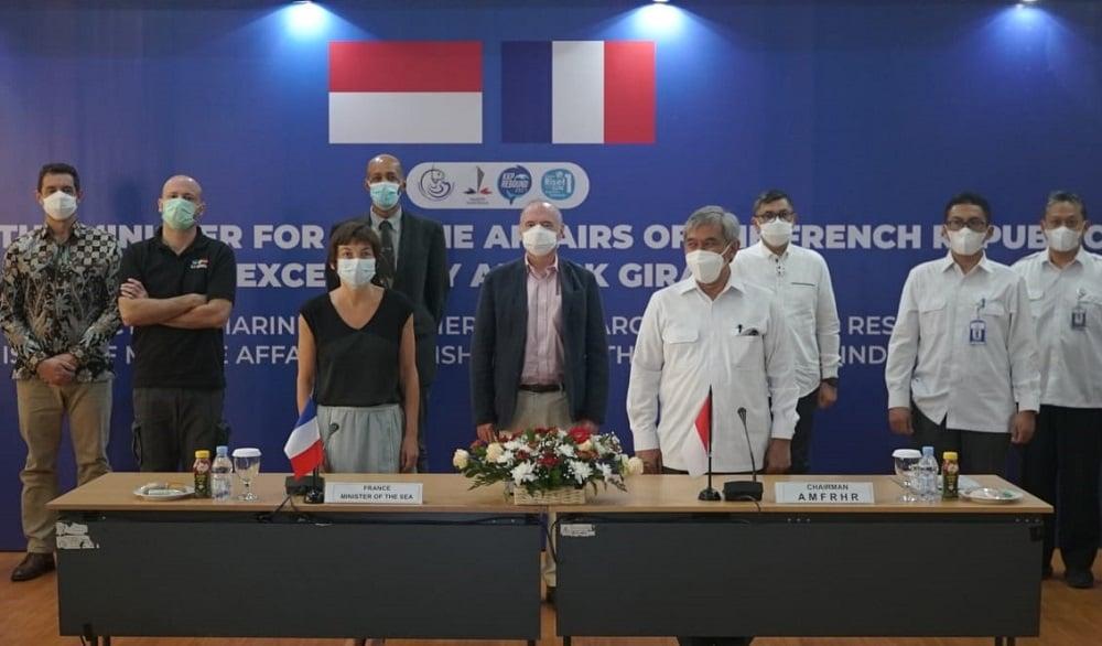 Menteri Kelautan Prancis Blak-blakan Puji Indonesia: Tantangan...(Foto: dok KKP)