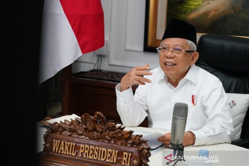 Wakil Presiden Ma'ruf Amin (foto: ANTARA)