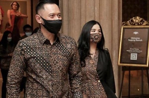 Istri AHY Blak-blakan Sindir Keras Kapolri Listyo Sigit, Isinya..- Ketua Umum Partai Demokrat Agus Harimurti Yudhoyono (AHY) bersama istrinya Annisa Pohan (Foto: Instagram/annisa)