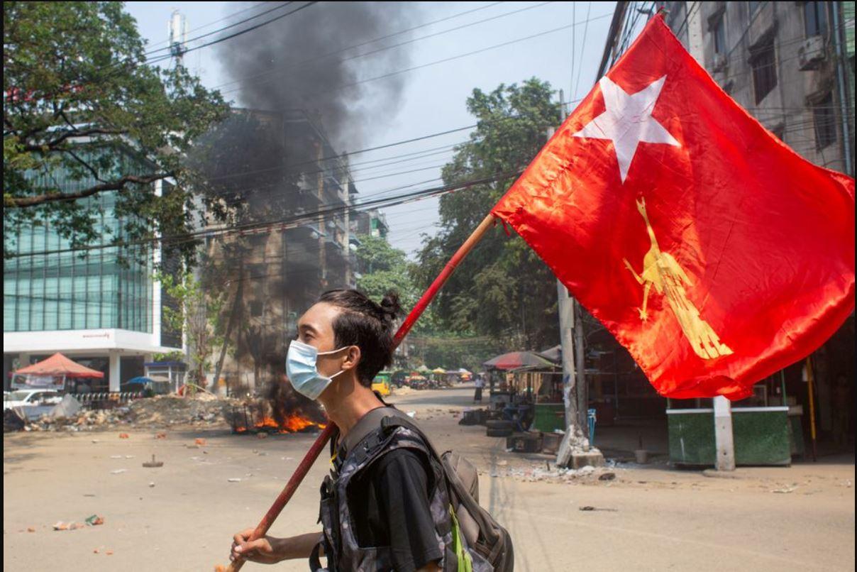 Kekacauan Menggila, 680 Ribu Warga Myanmar Ngungsi