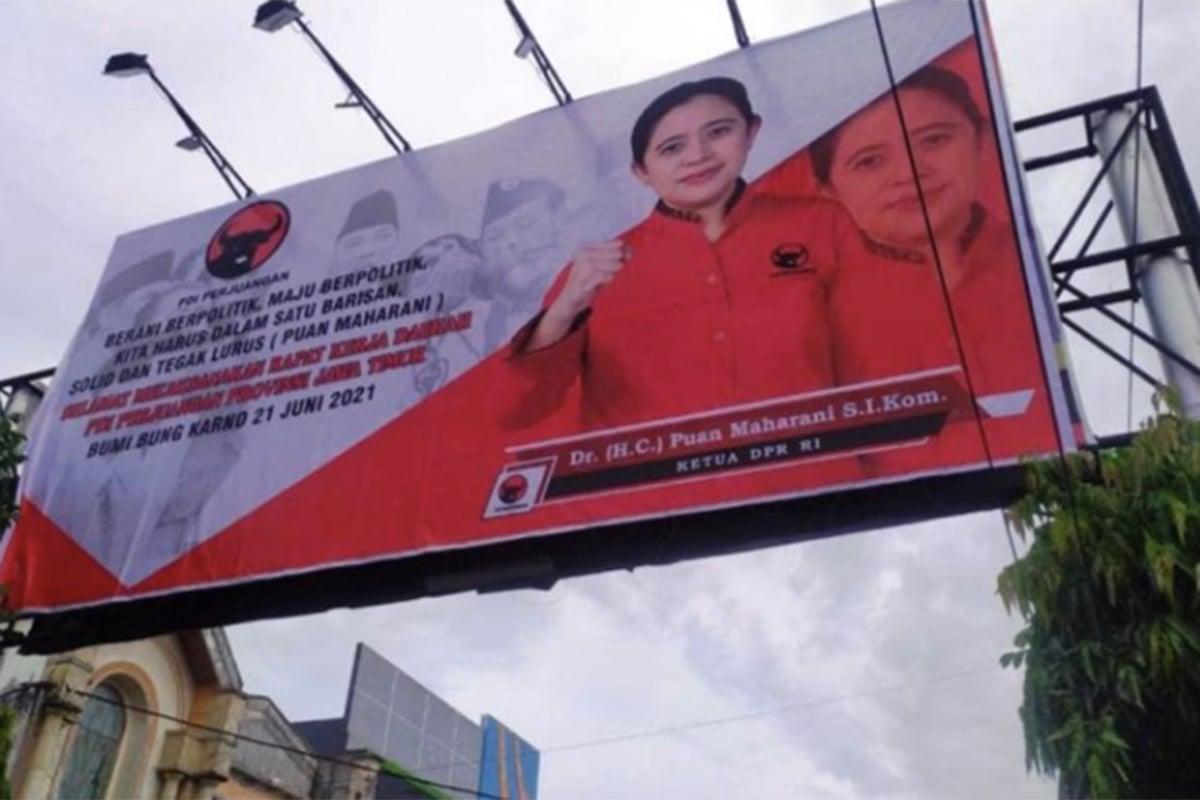 Baliho 3 Elite Politik Dibongkar, Pengamat: Jangan Jadi Sampah