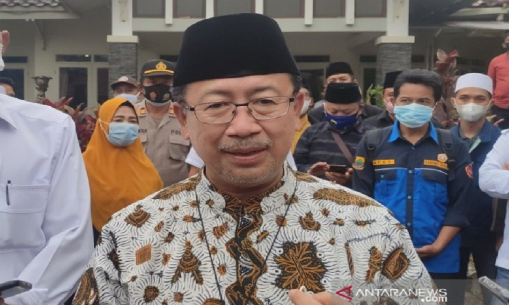 Bupati Cianjur Herman Suherman mengeluarkan peraturan soal Kawin Kontrak. FOTO: Antara