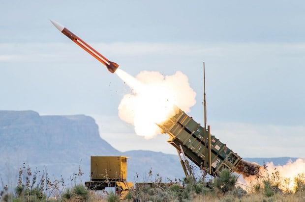 Ilustrasi Sistem Pertahanan Rudal Amerika di Timur Tengah. Foto: AFP