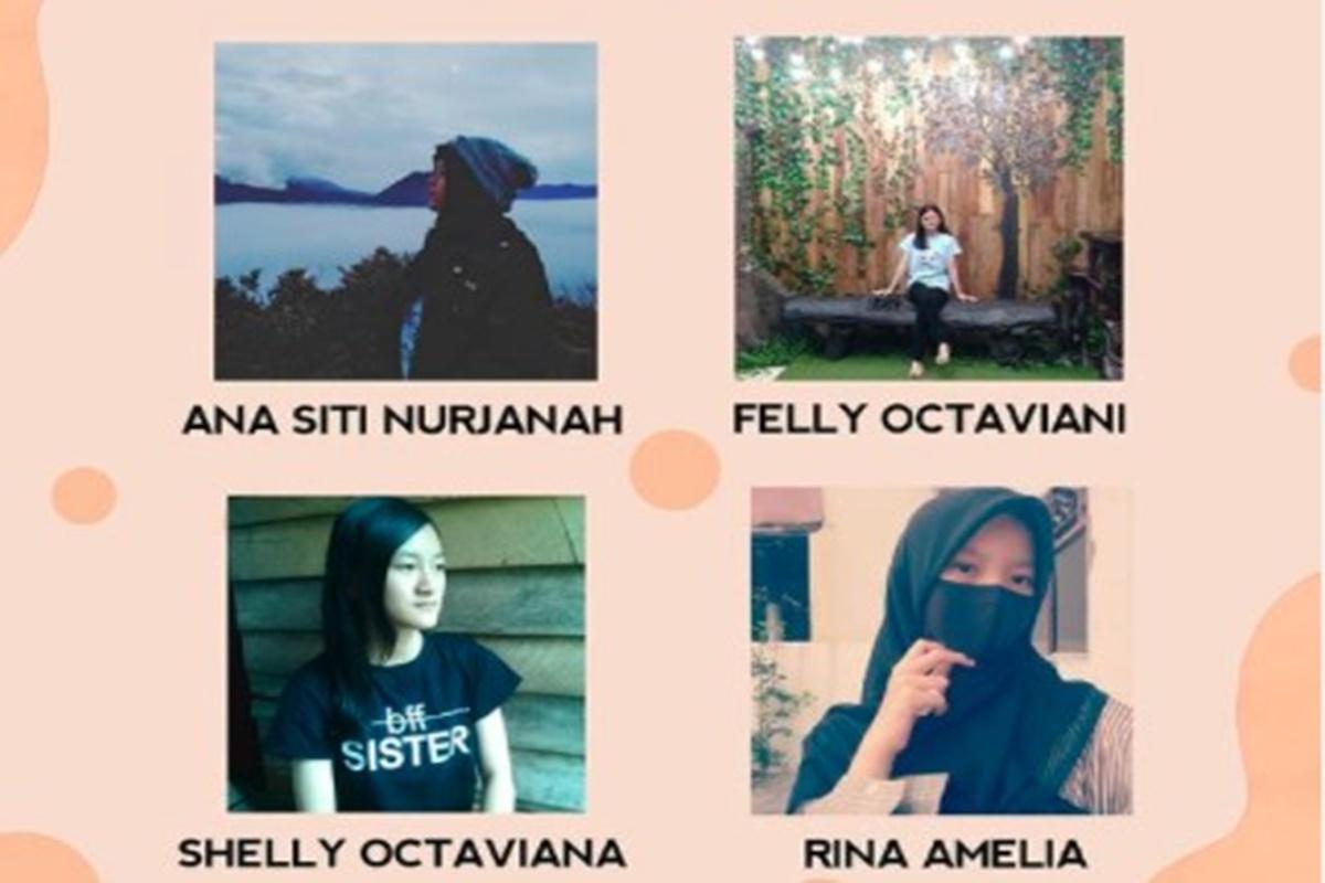 Sejumlah mentor Komunitas Bumi Literasi (Foto: SC IG komunitasbumiliterasi)