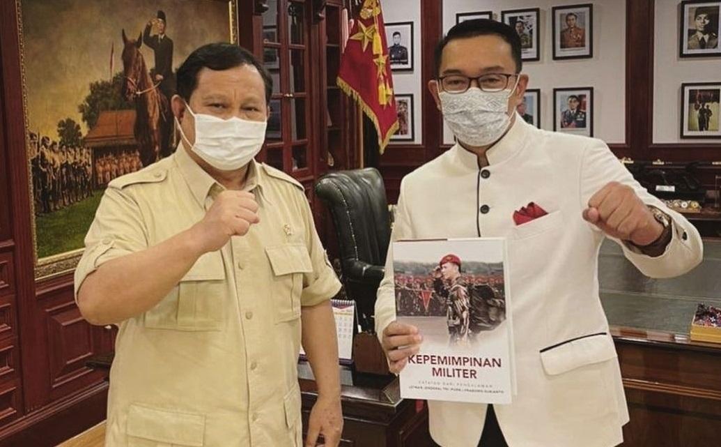 Mendadak Ridwan Kamil Temui Prabowo Subianto Secara Khusus, Wow