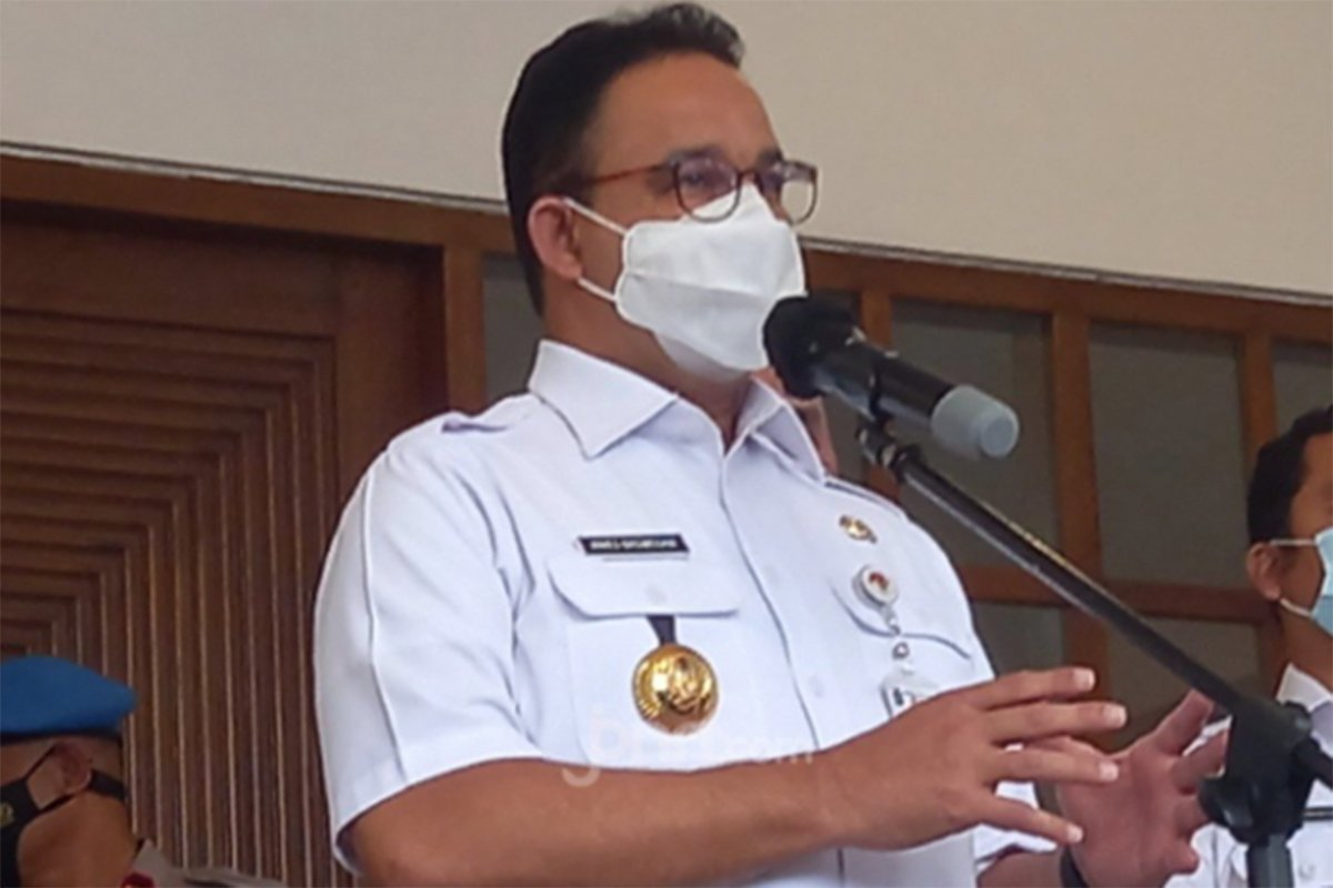 Suara Lantang Anies soal Covid-19, Warga Jakarta Harus Waspada!