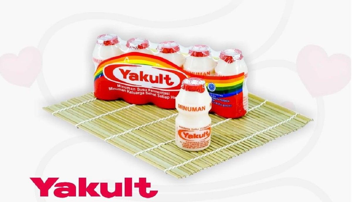 Minuman Yakult (foto: Instagram Yakult)