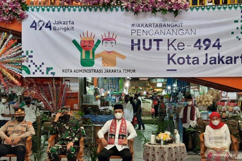 Perayaan HUT DKI Jakarta. Foto: ANTARA