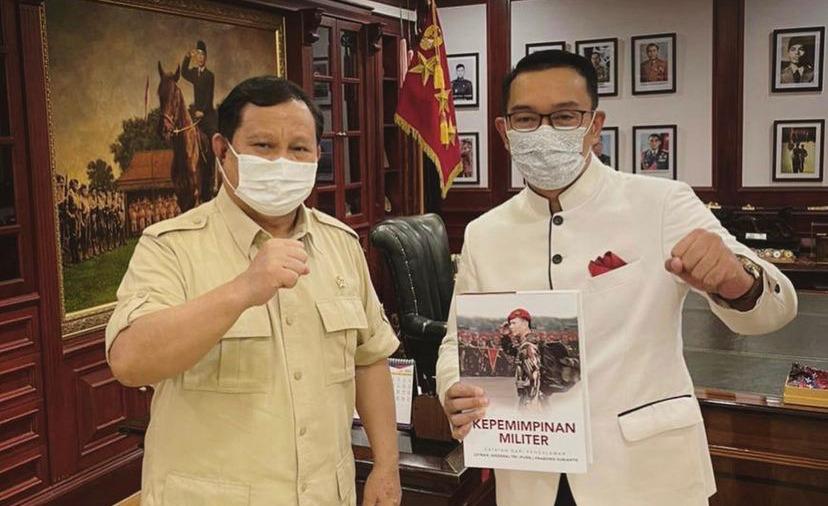 Analisis Top Pertemuan Ridwan Kamil dengan Prabowo Dibuka