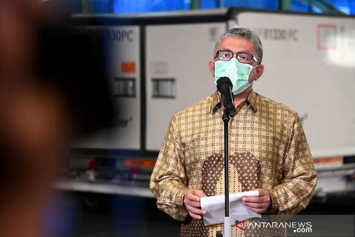 Sekjen Kementerian Kesehatan Ooscar Primadi. Foto: Antara/HO-Biro Pers Setpres/Lukas/am.