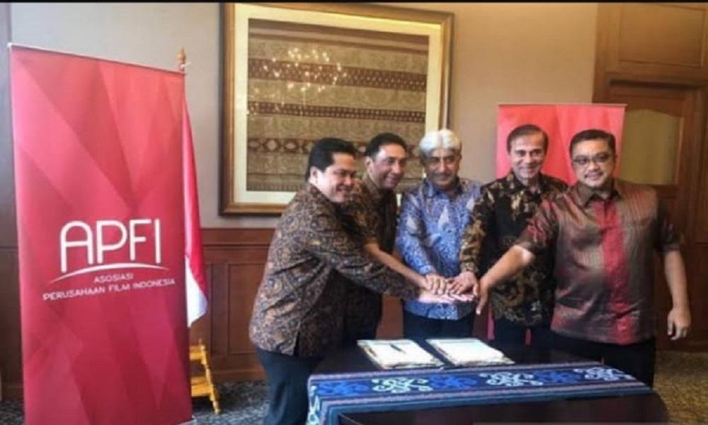 Asosiasi Perusahaan Film Indonesia (APFI) nambah 2 anggota baru. (dok apfi)