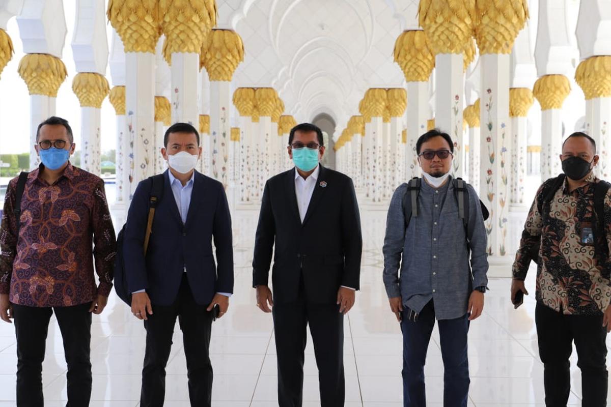 Jajaran pimpinan Waskita Karya (foto: Waskita Karya)