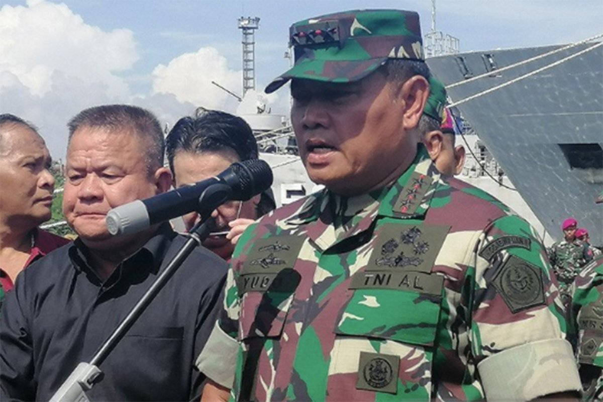Kepala Staf Angkatan Laut (Kasal) Laksamana TNI Yudo Margono. Foto: Antara