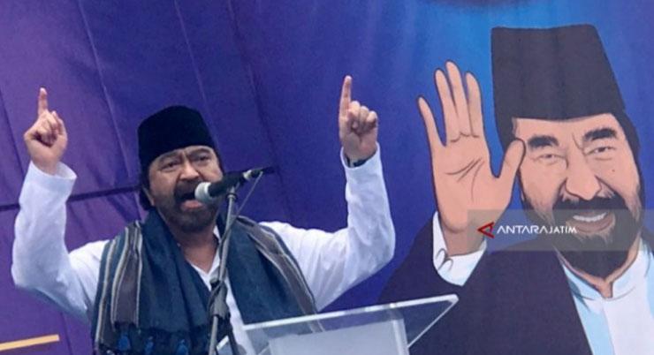 Ketua Umum DPP Partai NasDem Surya Paloh. (Antarajatim/Fiqih Arfani)