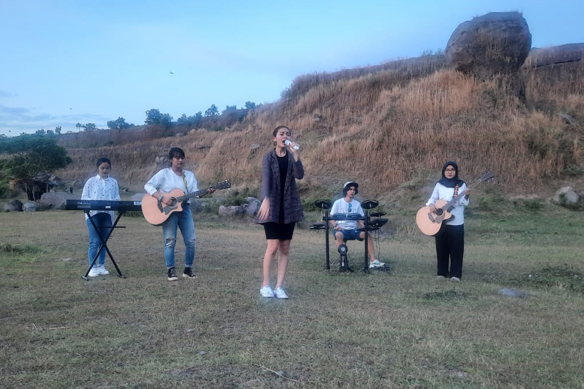 Cak Sodiq Bentuk Band Cewek, Ayo Ikut Sayembara Namanya