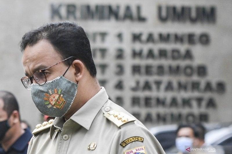 Gubernur DKI Jakarta Anies Baswedan (foto: ANTARA)