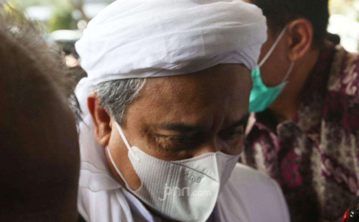 Duh, Presiden Jokowi Teseret Sidang Vonis Habib Rizieq