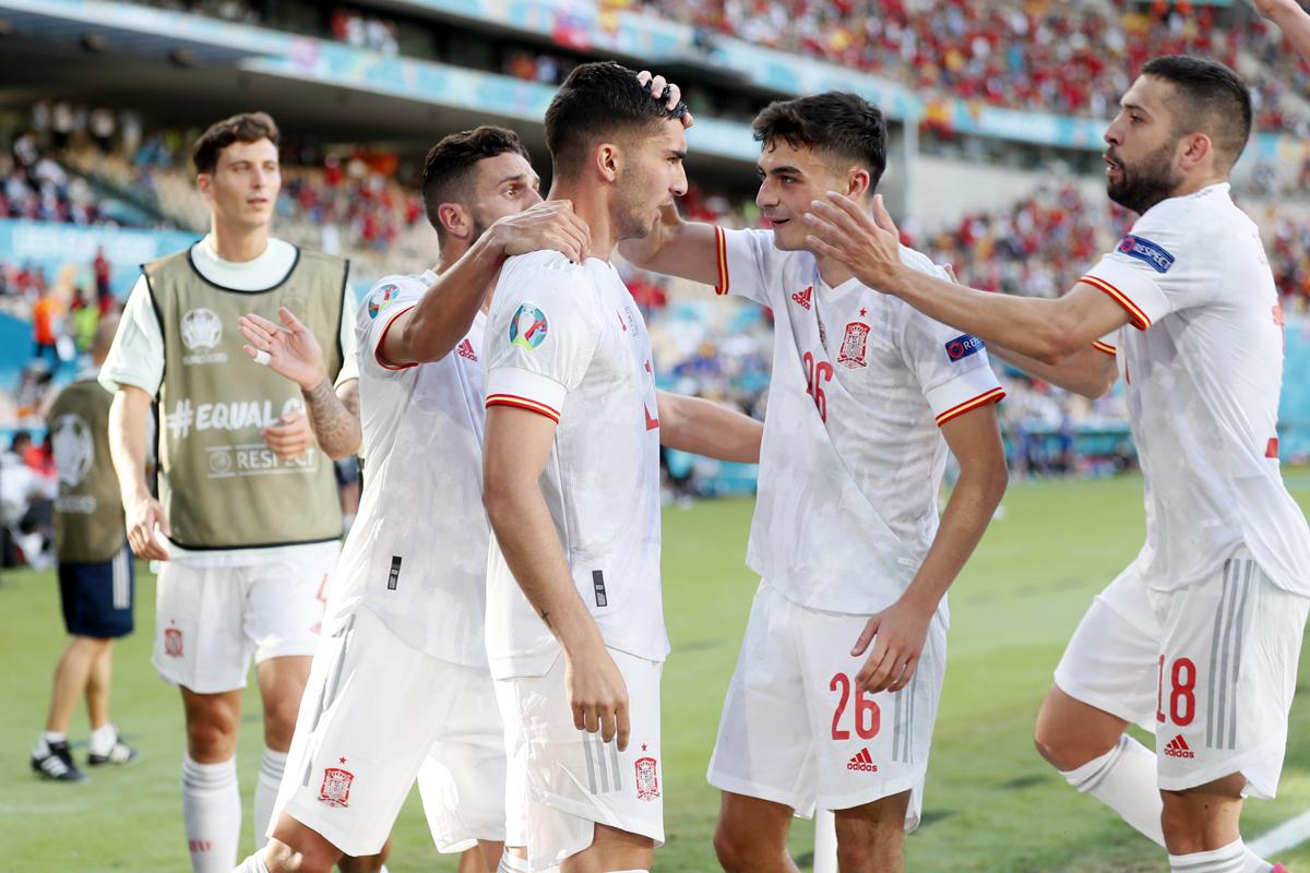Spanyol vs Slovakia 5-0: Yaelaaahh Alvaro Morata
