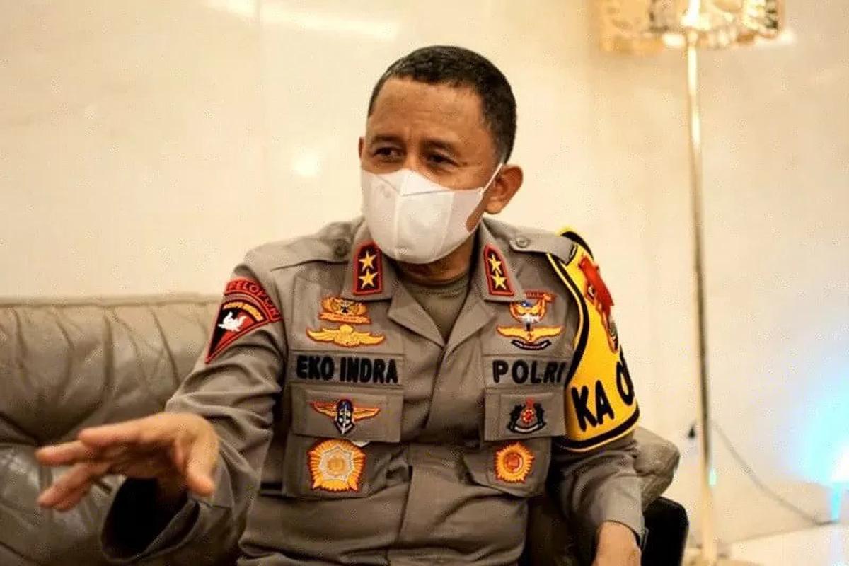 Kapolda Sumatera Selatan Irjen Pol Eko Indra Heri. Foto: ANTARA/H0/21