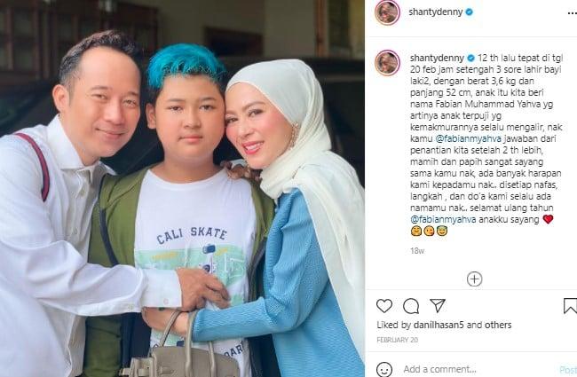 Jarang Terungkap! Anak Denny Cagur Kini Telah Remaja