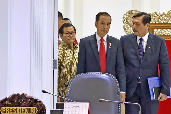 Pengamat Politik dari Universitas Nasional (Unas) Th Bambang Pamungkas menyoroti kepemimpinan Presiden Jokowi terkait penanganan pandemi covid-19. Foto: ANTARA/Puspa Perwitasari