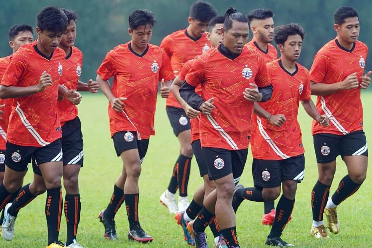 Persija Genjot Fisik Jelang Kick Off Liga 1 Indonesia