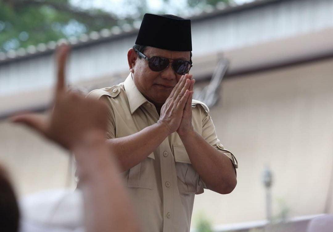 Terungkap, Ini Penyebab Prabowo Berada di Puncak Elektabilitas