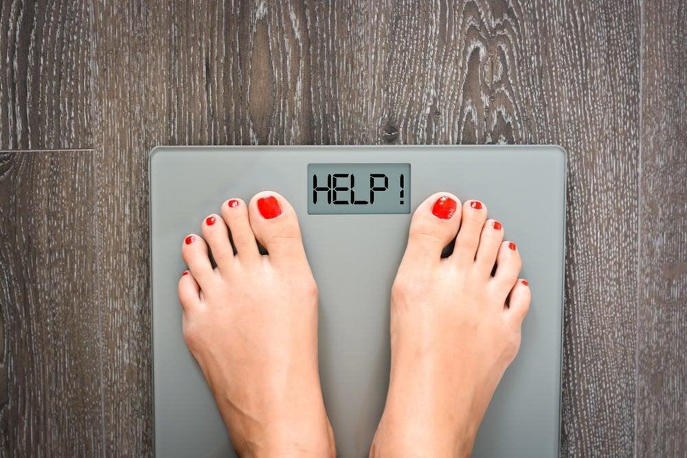 ilustrasi berat badan naik. foto: hellosehat