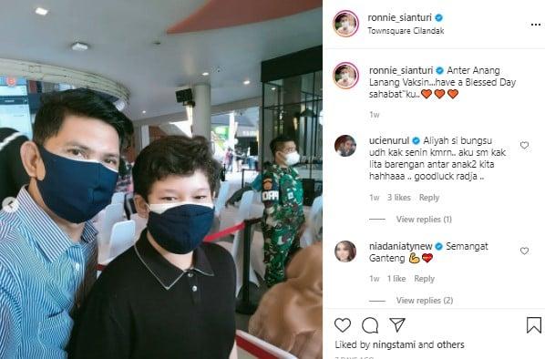 Raja Sudah Remaja, Intip Potret Kompak Ronnie Sianturi & Anaknya
