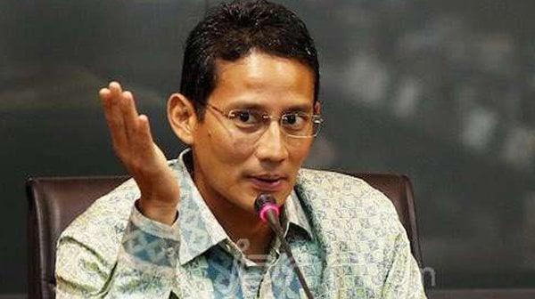 Menparekraf Sandiaga Uno. Foto: JPNN.com