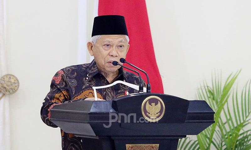 Wakil Presiden Ma'ruf Amin. Foto: JPNN.com