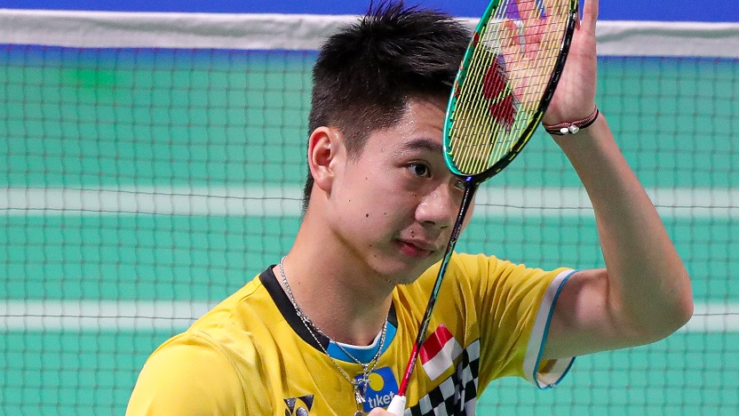 Menjelang Olimpiade Tokyo 2020, pebulu tangkis ganda putra Indonesia, Kevin Sanjaya sukses menggemparkan Amerika Serikat. (foto: bwfbadminton)