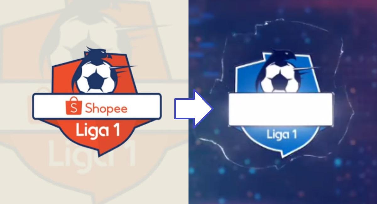 Perubahan Logo Sponsor Liga 1. (foto: instagram.com/liga1match)