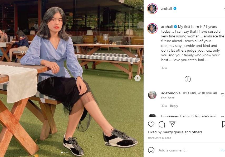 Putri Sulung Alya Rohali, Cantik dan Idola Banget