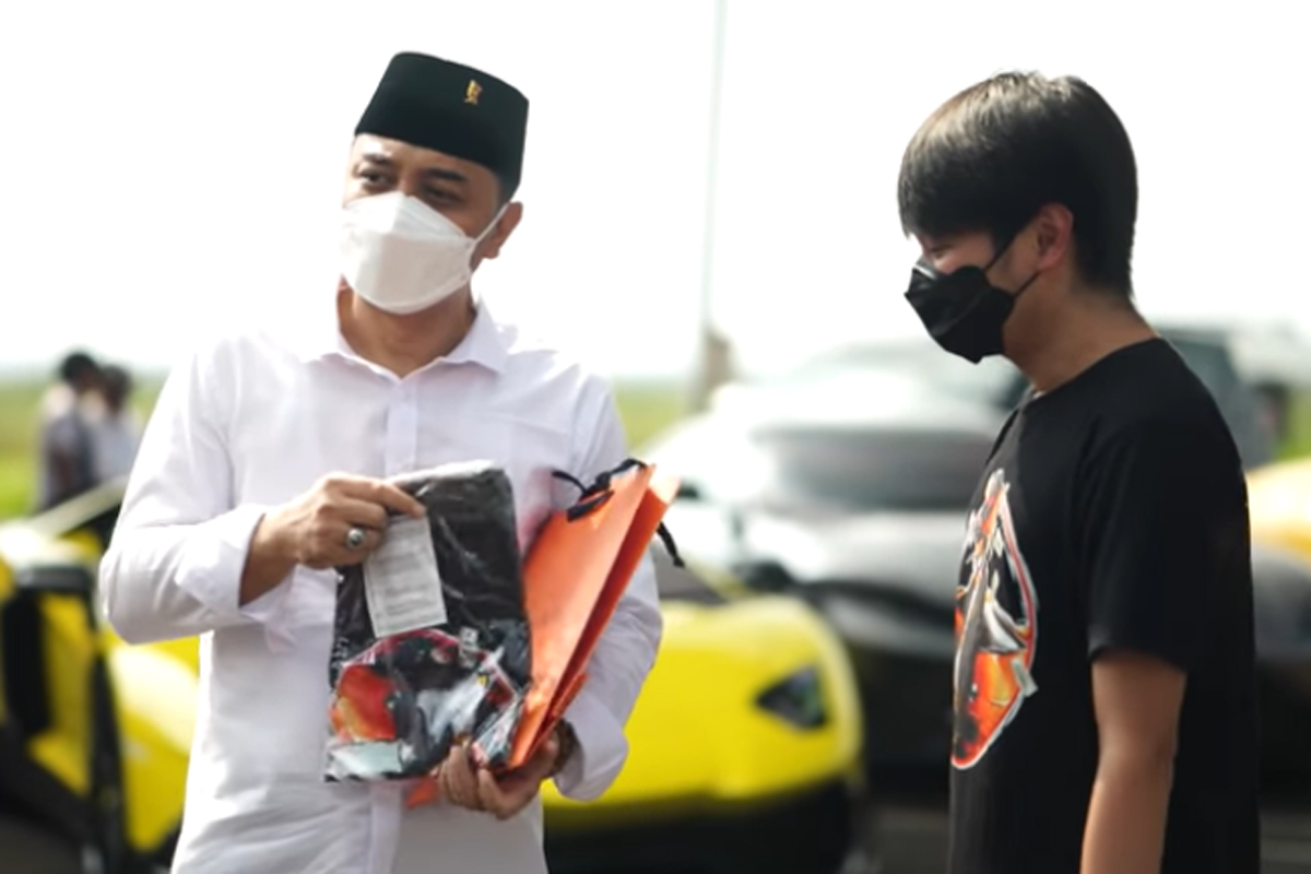 Diajak Crazy Rich Surabaya Ngebut, Wali Kota Sampai Teriak