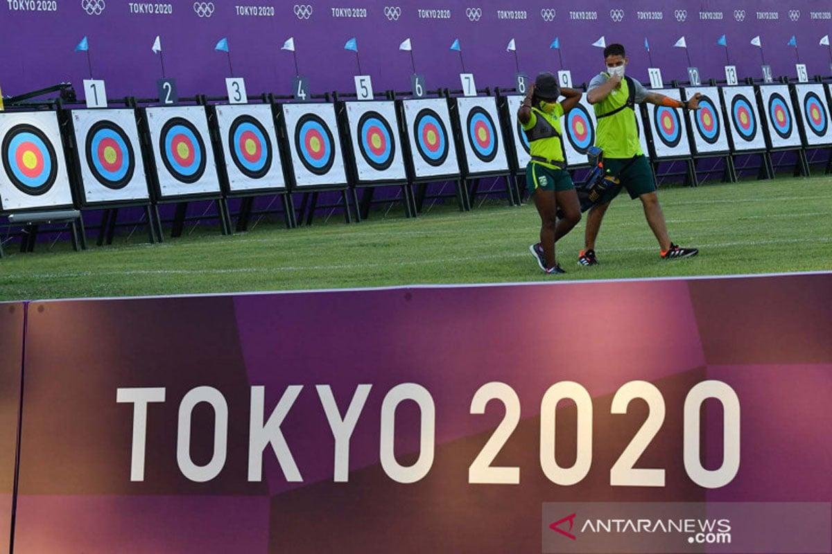 Salahkan Angin, Tim Panahan Indonesia Kalah di Olimpiade Tokyo