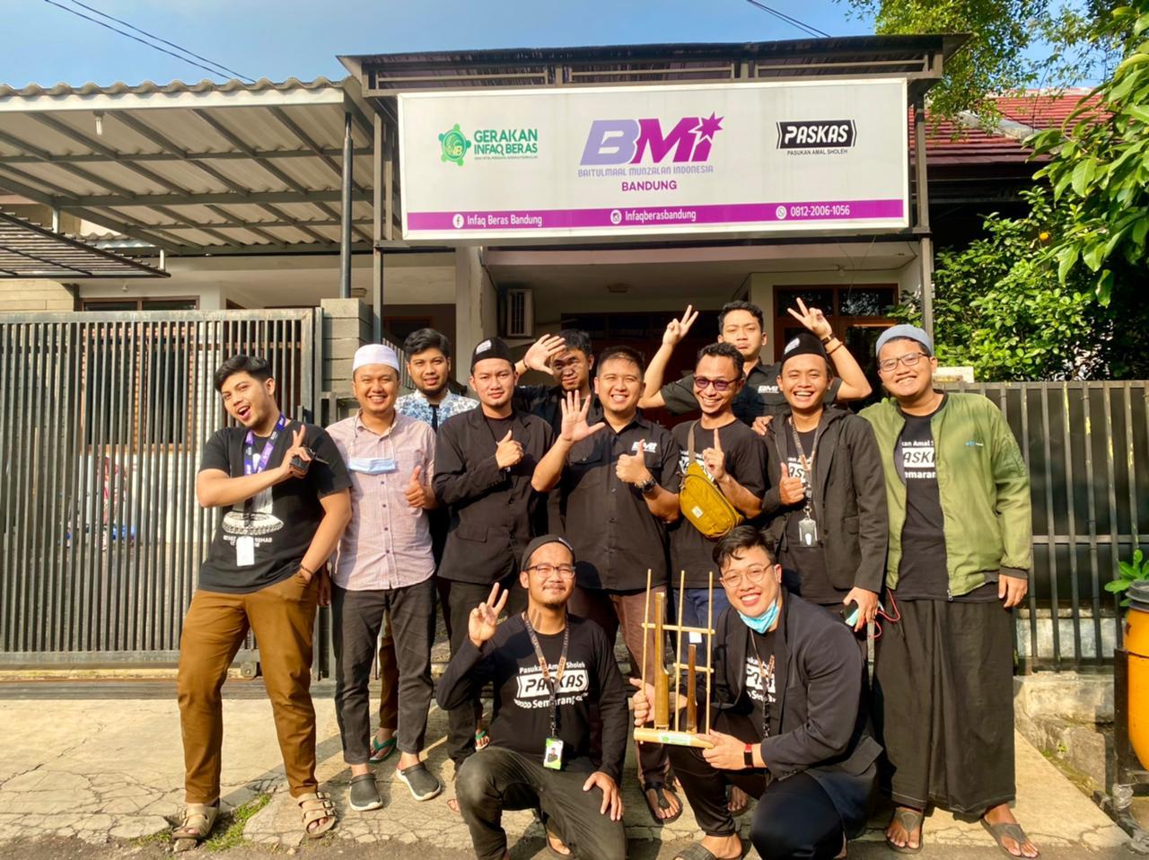 Gerakan Infaq Beras Semarang, Rutin Gelar Aksi Mulia Untuk Santri