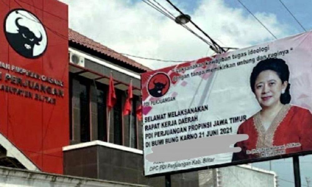 Airlangga & Puan Kompak Pasang Baliho, Pendiri KedaiKOPI Bersuara